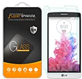 (2 Pack) Supershieldz Designed for LG G3 Tempered Glass Screen Protector, Anti Scratch, Bubble Free