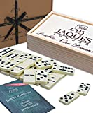 Jaques of London Dominoes - Club Double Nine Dominoes Set dans Un Couvercle...