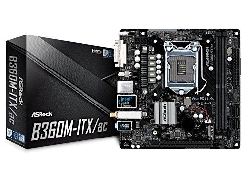 ASRock Intel B360チップセット搭載 Mini-ITXマザーボード B360M-ITX/ac