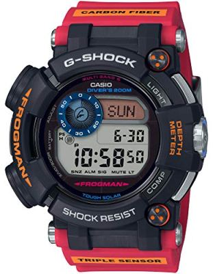 Casio G-Shock GWF-D1000ARR-1JR Frogman Antarctic Research ROV Collaboration Mens Watch (Japan Domestic Genuine Product)