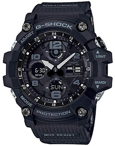 CASIO Herren Digital Uhr mit Harz Armband GWG-100-1AER