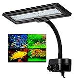 Hygger Lampe LED Aquarium, 13W Lampe à Clip pour Aquarium, Lampe 30 LEDs,...