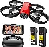 SANROCK U61W Mini Drone con Telecamera 720P HD FPV con 2...