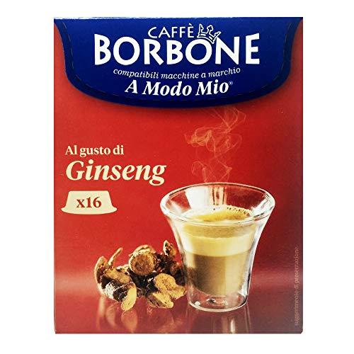 16 Capsule Caffè Borbone ginseng compatibili A Modo Mio
