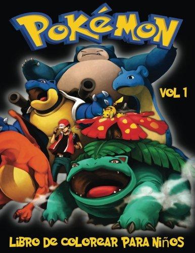 Pokemon Libro de Colorear para niños Volume 1