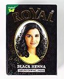 royal henna Herbal Base Powder Dye - Black Henna - 60G (6 x 10gm)