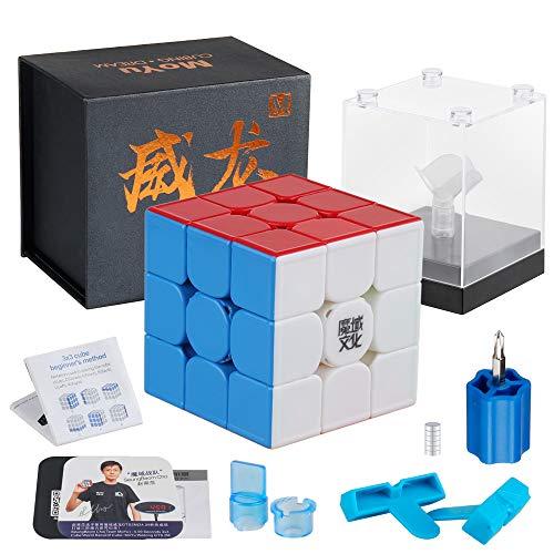 D-FantiX Moyu Weilong GTS3 M 3x3 Speed Cube Stickerless Magnetic Moyu Weilong...