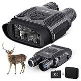BNISE Jumelle Vision Nocturne Numérique pour Adultes - 1300FT/400M Caméra...