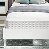 Signature Sleep Contour Encased Mattress, Twin, White