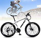 Frezon Mountain Bike 26' Wheels 21 Speed Carbon Frame Bicycle Disc Bicycles