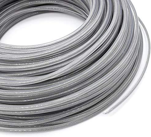 Ysislybin, filo di acciaio per decespugliatore, filo in acciaio inox, 3,0 mm, filo di ricambio per decespugliatore