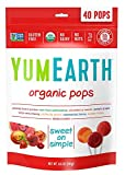 YumEarth Organic Lollipops, Assorted Flavors, 40 lollipops per Pack, 8.5 Ounce (Pack of 1)