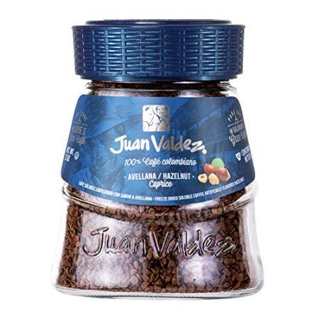 Juan Valdez® Gefriergetrockneter Kaffee mit Haselnuss, 95g