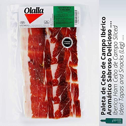 Olalla Paleta de Jamon Iberico de Cebo de Campo Iberico 50% Raza Iberica - 100 gr