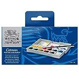 Winsor & Newton Cotman Boîte De Peinture Aquarelle En Plastique Avec 12...