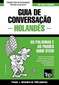 Portuguese-Dutch Conversation Guide and concise dictionary 1500 words