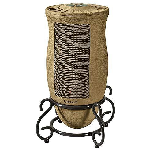 Lasko Designer Series Ceramic Space Heater-Features Oscillation, Remote, and Built-in Timer, Beige