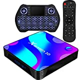 Android TV Box 10.0,RK3318 Smart TV Box 2GB 16GB Support 2.4G 5.8G WiFi Bluetooth 4.1 with Mini...