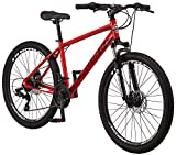 Schwinn High Timber ALX Youth/Adult Mountain Bike, Aluminum Frame and Disc Brakes, 26-Inch Wheels,...