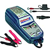 OptiMATE TM220-4A Chargeur de Batterie OptiMate5, Bleu, 5 Start/Stop 12V 4A