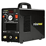 PRIMEWELD Premium & Rugged 50A Air Inverter Plasma Cutter Automatic Dual Voltage 110/220VAC 1/2' Clean Cut Portable
