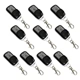 ALEKO 10LM122 Remote Control for Gate Opener Remote Transmitter LM122, Lot of 10