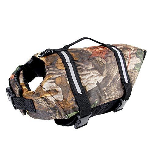 Camo Pet Life Preserver Jacket,Camouflage Dog Life...