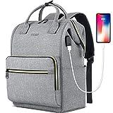 Laptop Backpack for Women Men, Travel Backpack Purse for 15.6 Inch...