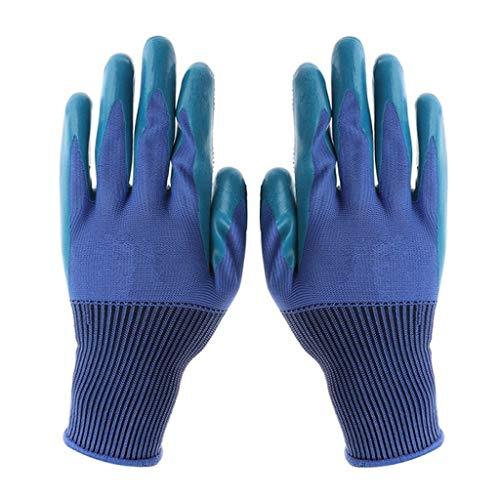 Diserbo guanti media guanti da lavoro impermeabile e traspirante con gli artigli per scavare la...