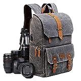UBAYMAX Zaino Casual per Fotocamera/Reflex,Zaino Laptop per Macchina Fotografica,Borsa Impermeabile per Foto DSLR/Treppiede Accessori,Zaino Antifurto di Viaggio per Canon Nikon Sony Olympus
