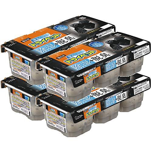【まとめ買い】備長炭ドライペット 除湿剤 使い捨てタイプ (420ml×3個パック)×4個