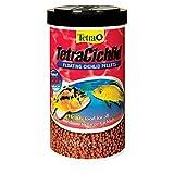 TetraCichlid Floating Cichlid Pellets 6 Ounces, Nutritionally Balanced Diet (77063)
