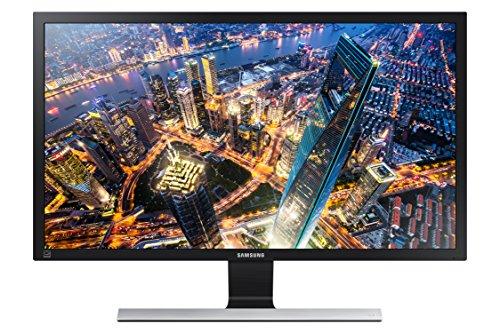 Samsung 28-Inch UE570 UHD 4K Gaming Monitor (LU28E570DS/ZA)  60Hz Refresh, Computer Monitor, 3840 x 2160p Resolution, 1ms Response, FreeSync, Split Screen, HDMI, Black