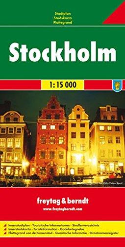 Stoccolma 1:15.000: Stadskaart 1:15 000 (City Map)