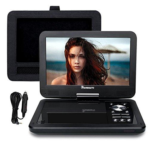 6.NaviSkato 9 Inch Portable DVD/CD Player