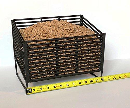 Medium Pellet Basket, Heating Source Using Wood Pellets in Your Wood Stove or Fireplace