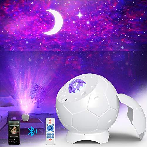 Fezax Star Night Light Projector, Romantic Starry Light with Bluetooth...