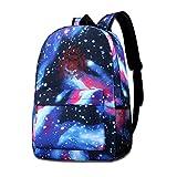 Lawenp 666 Galaxy Mochilas para Viajes Escolares Viajes de Negocios Compras Trabajo Bolsos Elegantes Mochilas Informales