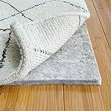 RUGPADUSA - Basics - 10'x14' - 1/2' Thick - 100% Felt - Protective Cushioning Rug Pad - Safe for All Floors and Finishes including Hardwoods