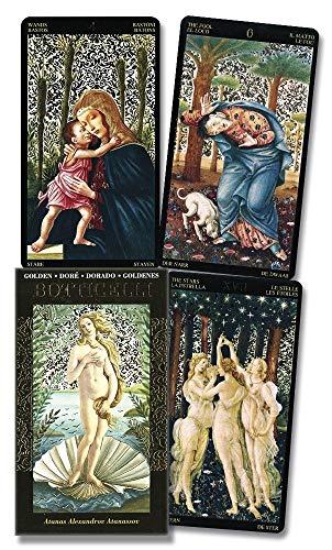 Golden Botticelli Tarot (English, Spanish, French, German...