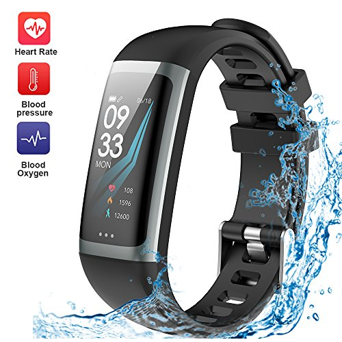 WELTEAYO Fitness Tracker, Activity Tracker Watch with Heart...