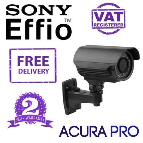 AcuraPRO Sony Effio-E ENHANCED 700TVL VARIFOCAL Telecamera CCTV