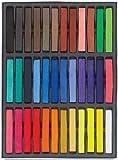Boolavard - Kit de tizas en color pastel para el cabello, duración temporal, no tóxicas, 36...