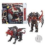TRANSFORMERS Saga - Robot électronique Dragonstorm dragon - Jouet transformable...