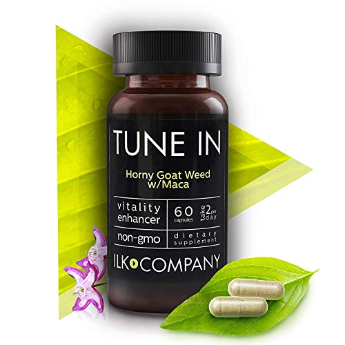 Horny Goat Weed with L-Arginine and Maca Root - Natural...