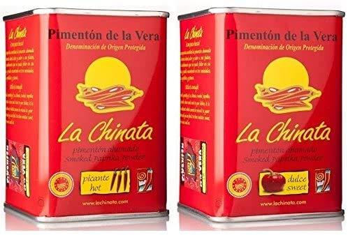 Pimentón de La Vera Ahumado Dulce y Picante pack La Chinata