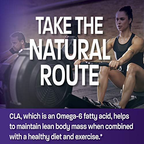 CLA 3000 Extra High Potency Supports Healthy Weight Management Lean Muscle Mass Non-Stimulating Conjugated Linoleic Acid 300 Softgels 7