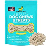 All Natural Freeze Dried Chicken Treats for Cats & Dogs Made in USA - from Free Range Chicken Breast - Grain Free Food Topper - 6 Oz Bag