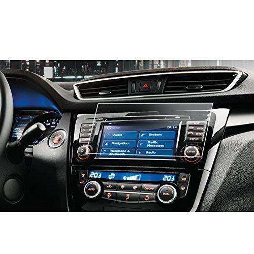 LFOTPP Nissan Qashqail 7 Pollici Navigazione Pellicola Protettiva in Vetro Temperato Screen Protector Film - 9H Antigraffio HD Alta Trasparente