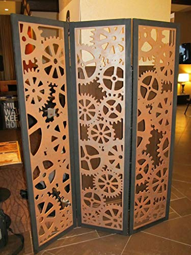 Wood Partition Room dividers | Wooden Room Separators for Living Area